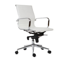 Scandinavian Designs - Chairs - Ovata Low Back Desk Chair-WH