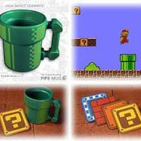 Super Mario Pipe Coffee Mug