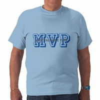 MVP-MOST VALUABLE PAPA TEE SHIRT from Zazzle.com