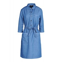 Nancy Belted Denim Dress