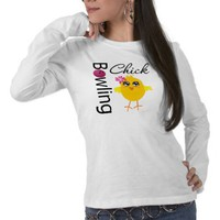 Bowling Chick T Shirts from Zazzle.com