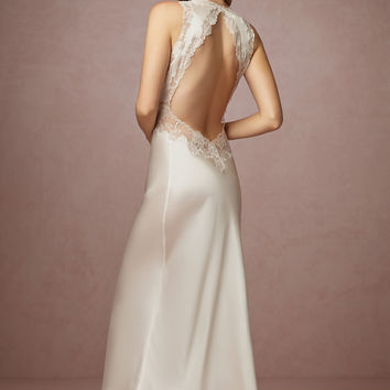 Henriette Open Back Gown
