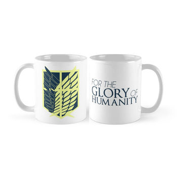 Attack On Titan - Survey Corps Insignia Mug