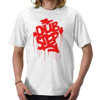 Dubstep FatCap Red Tee Shirts from Zazzle.com