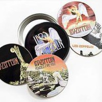 ROCKWORLDEAST - Led Zeppelin, Coasters, Classic Album Covers