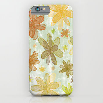 4 Seasons - Autumn iPhone & iPod Case by Alice Gosling