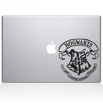 Hogwarts Crest Macbook Decal | Macbook Vinyl Decals | The Decal Guru