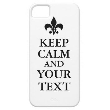 Keep Calm iPhone 5/5S Barely There