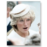 No.137 Princess Diana Canterbury 1983 Postcard from Zazzle.com