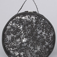 The Amy Traveller Bag in Black Lace by Mata Hari | Karmaloop.com - Global Concrete Culture
