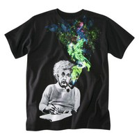 Einstein Men&#x27;s Screen Tee - Black