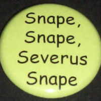 SNAPE, SNAPE, SEVERUS SNAPE Button Badge HARRY POTTER | eBay