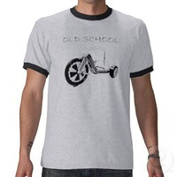 Old School Big Wheel Tee Shirts from Zazzle.com