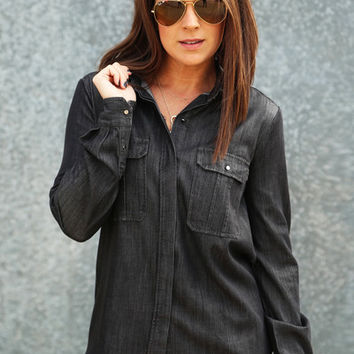 Black Betty Button Up
