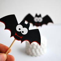 12 Spooky Bat Toppers, Vampire Part.. on Luulla