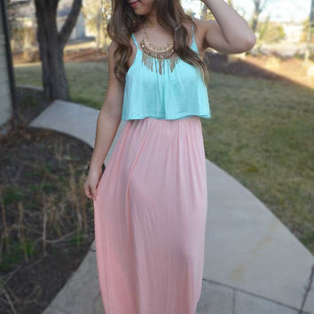 Forever Yours Maxi Dress - Mint