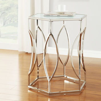 Home Creek Allerton Hexagonal Accent Table