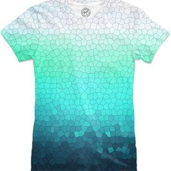green sparkle Women's T-Shirts by Steffi Louis | Nuvango