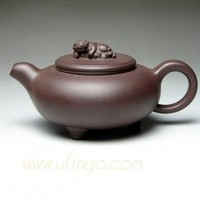Purple Clay Lion Teapot : Buy Unique and Creative Craft Gifts From Chinese Best Online Shop, Ufingo