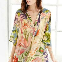 Staring At Stars Blooming Lotus Tunic Top - Urban Outfitters