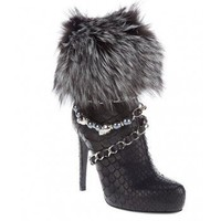 PHILIPP PLEIN Crocodile leather boot