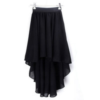 Sexy Elegant Asymmetric Long Maxi Skirt