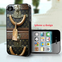 iphone 5 case , Louis Vuitton Vintage luggage, Pre Order