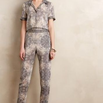 Pitone Jumpsuit by Twelfth Street by Cynthia Vincent Black Motif