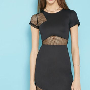 Rise of Dawn Parallel Dreamer Mesh Dress