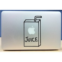 Amazon.com: Apple Juice Box - Vinyl Macbook / Laptop Decal Sticker Graphic: Computers & Accessories