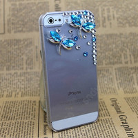 otterbox  iphone 5 case Dragonfly  pearls iphone case iPhone cover