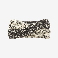 Eugenia Kim Large Knit Headband: Black/White at INTERMIX | Shop Now | Shop IntermixOnline.com