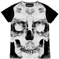 Black Mirror Skull Women T-Shirt - JUST IN - WOMEN Online store&gt; Shop the collection