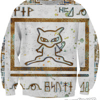Ancient Mew Limited Edition White Crewneck Sweatshirt