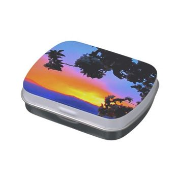 Sunset Jelly Belly Candy Tin