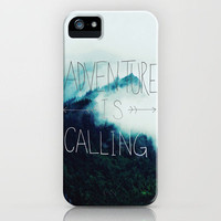 Adventure Mountain iPhone Case by Leah Flores | Society6