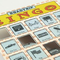Roadtrip Bingo ? The Fun Family Travel Game from Knock Knock