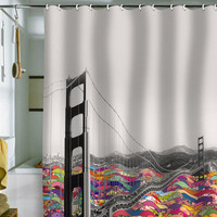 DENY Designs Home Accessories | Bianca Green Its In The Water Shower Curtain