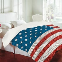 Bianca Green - USA Duvet Cover | DENY Designs Home Accessories