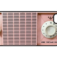 1VintageSoul Pink Radio iPhone 4 Case and iPhone 4s Case, Pink Radio iPhone 4 Cover and iPhone 4s Cover