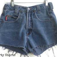 High Waisted Shorts Vintage Bongo Jean Shorts Size 5-6