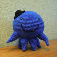 Oswald the octopus Amigurumi Doll PATTERN
