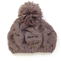 Cable Knit Beanie: Gray - $19.99 : Spotted Moth, Chic and sweet clothing and accessories for women