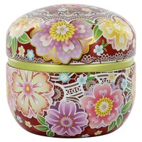 Floral Lace Tea Canister