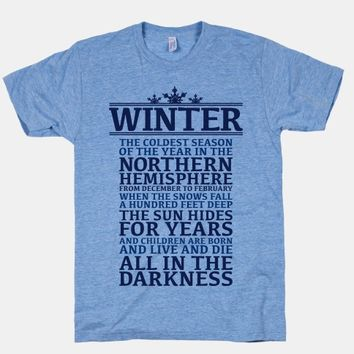 Definition of Winter