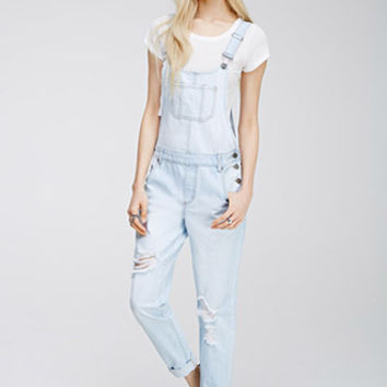 Distressed Bib Overalls