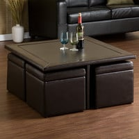 Wildon Home ® Pennington Storage Cube/ Coffee Table Set
