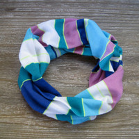 Childs Scarf Cute Toddler Scarf Striped Scarf Girls Scarf Fuschia Blue White Green Neon Yellow Gift Idea Kids Scarf Ready To Ship