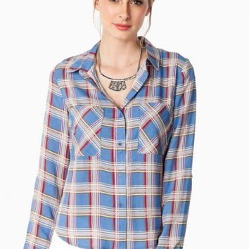 MCDOWELL BLOUSE IN BLUE