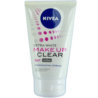 Nivea Extra White Makeup Clear Mud Foam Facial Cleanser 100g